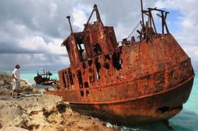 L'incroyable histoire de ces épaves de bateaux