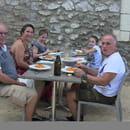Restaurant : Les Terrasses de Saint-Paul  - Prêts pour la dégustation :) -   © GB