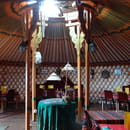 Les Milles Et Une Yourtes  - Salle de restaurant -