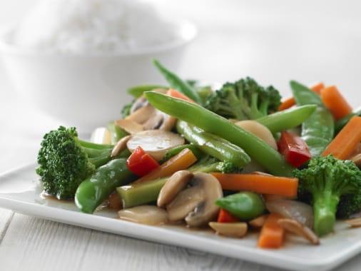Plat : Viet d'Azur  - Légumes sauté -   © Original