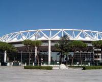 le stadio olimpico, théâtre du derby de la capitale.