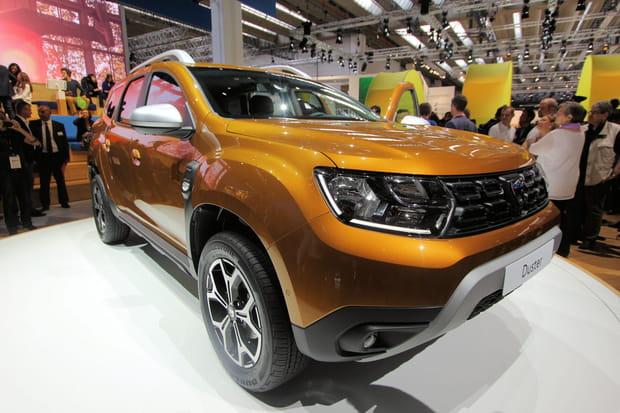 Le Dacia Duster, star de Francfort