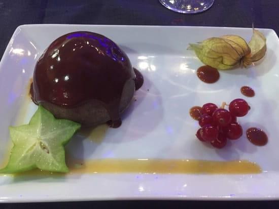 Dessert : Le Mirefleurs Restaurant de L'Aerodrome
