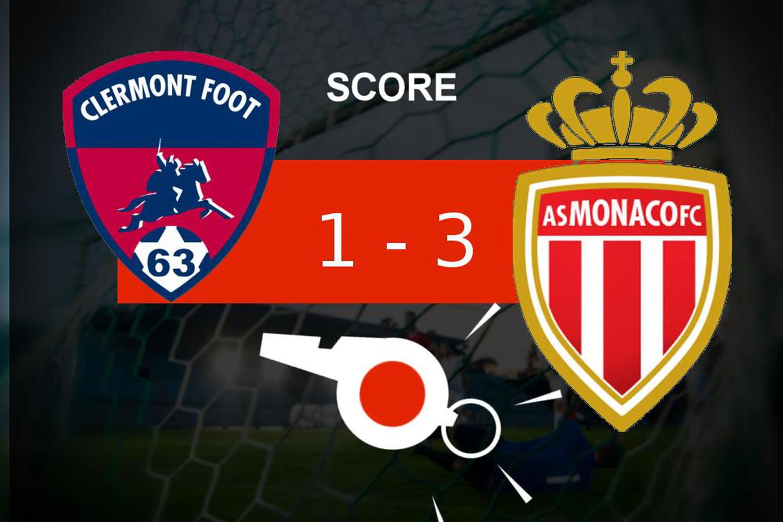 Clermont - Monaco: l'AS Monaco fait le job (1- 3), le résumé de la rencontre