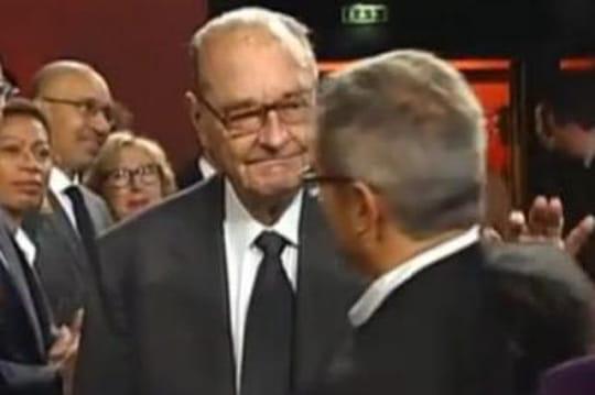 Jacques Chirac: trop faible pour parler? [VIDÉO]