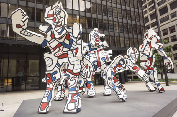 Jean Dubuffet - Welcome Parade (Cycle de L'Hourloupe).