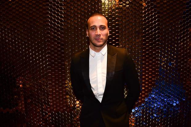 L'acteur et chanteur Merwan Rim