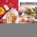 Le Piano Des Pizzas Chez Maza  - Nouveau Flyer -   © By Maza