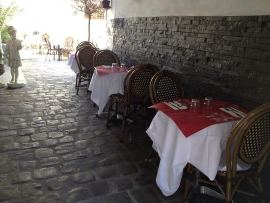 Restaurant : Le Saint Maurice  - Entrée de la restaurant -
