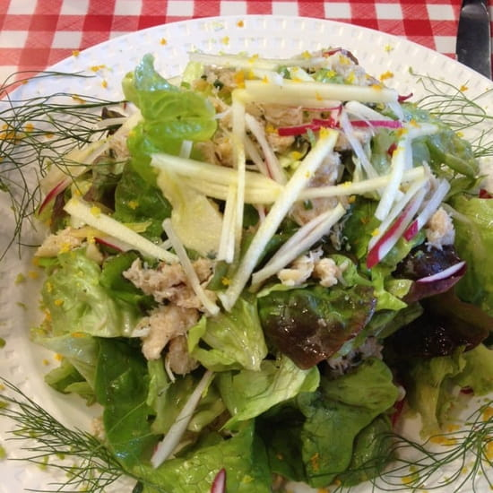 Entrée : Le Bistrot Du Port  - Salade de crabe -