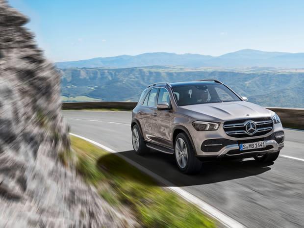 Les photos du nouveau Mercedes GLE