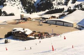 Courchevel ouvre une piste de ski accessible en voiture