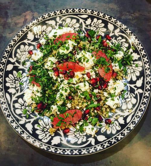 Entrée : Baba Kitchen  - Salade orienatale -   © c