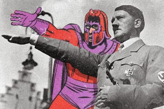 Des super-héros dans les photographies de guerre