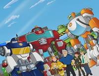 Transformers Rescue Bots : mission protection ! : L'homme des cavernes