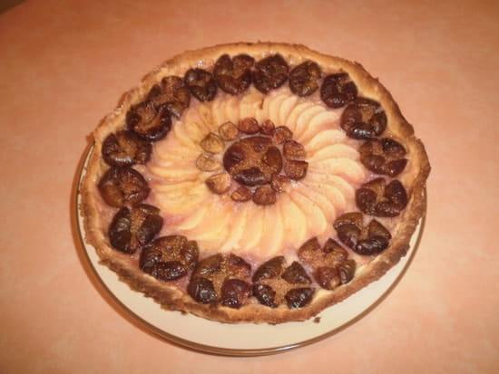 Ferme Auberge de Montalieuhaut  - tarte aux figues  -   © jean-luc