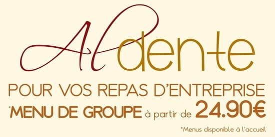 Restaurant : Al Dente Melun