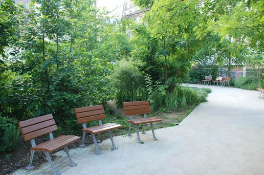 Le square Juliette Dodu