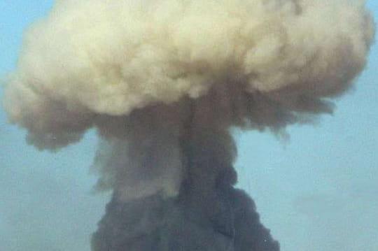 Explosion en Chine (Sanmenxia): des images très impressionnantes