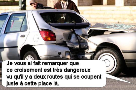 Les intersections sont dangereuses