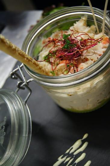 L'ARTI Restaurant - Tignes  - Verrine de Crabe des Neige -   © L'ARTI, Restaurant de Montagne