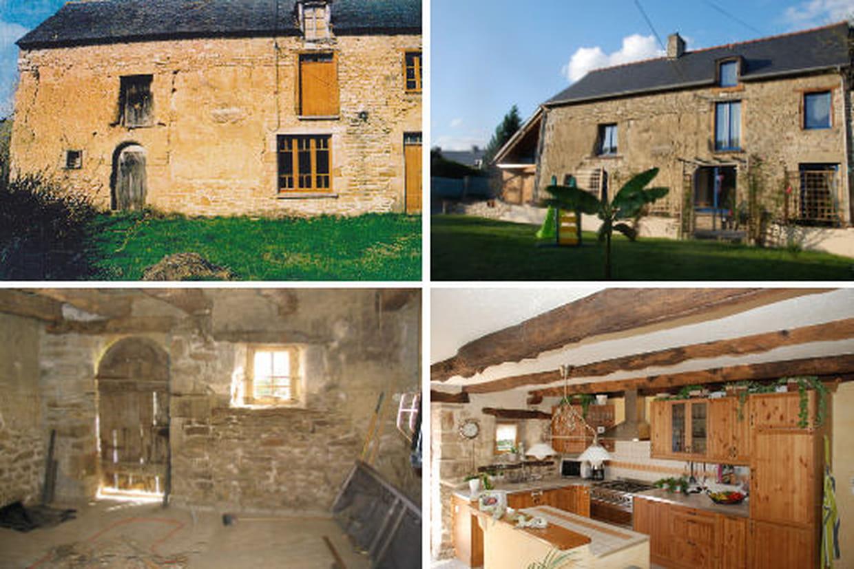 Avant/après  12 maisons rénovées par les lecteurs