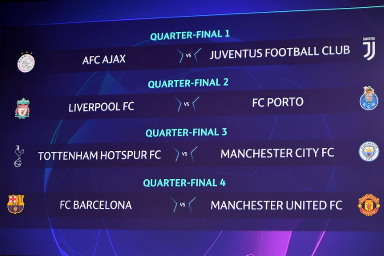 Ligue des champions: Manchester United défiera le Barça en quarts