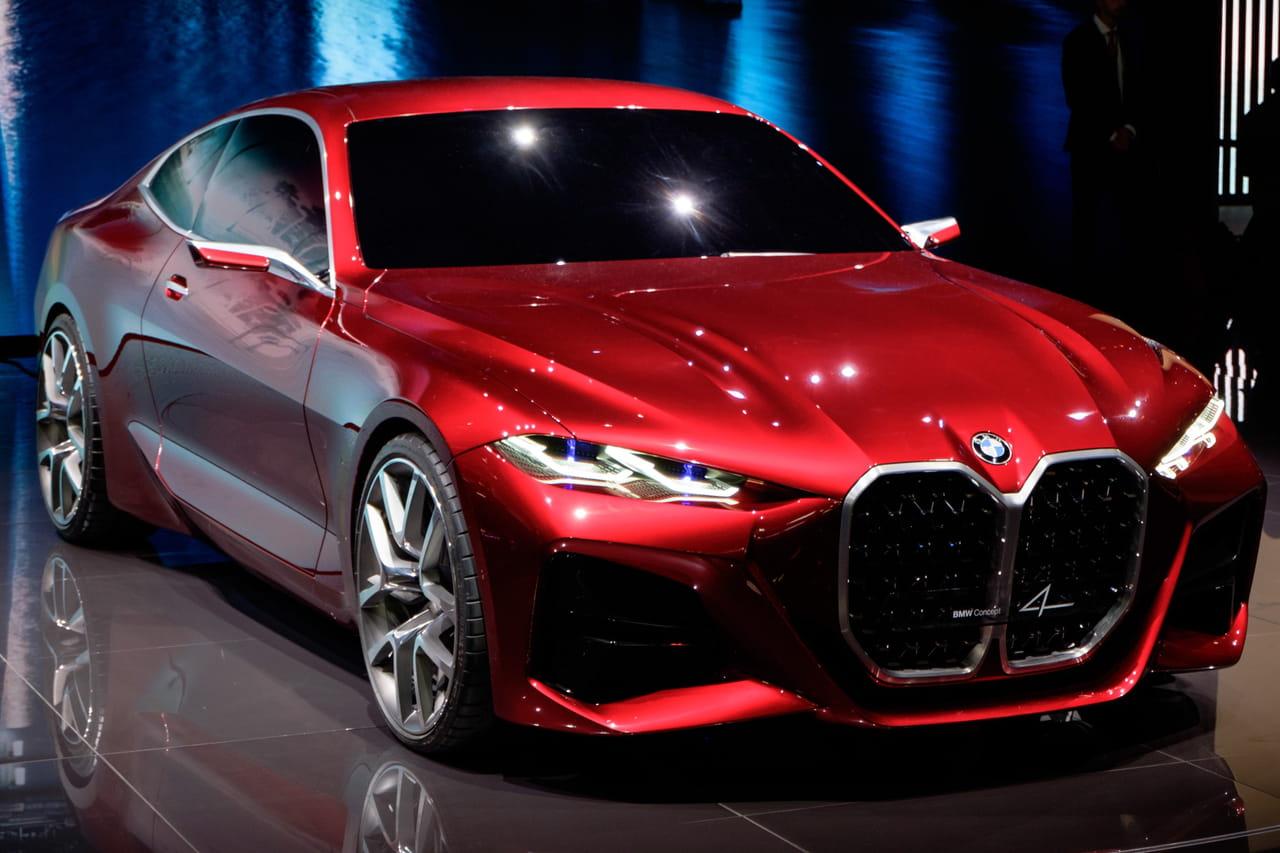 BMW Concept 4: la future Série 4? Les photos au Salon de Francfort