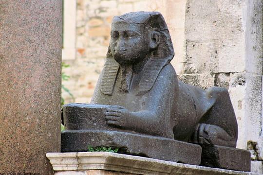 Un sphinx à Split