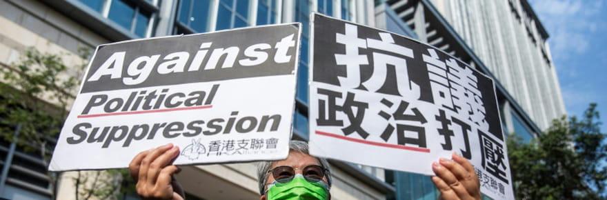 Manifestation monstre à Hong Kong en 2019: les organisateurs jugés coupables