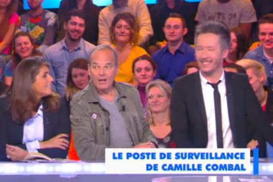 Laurent Baffie : il porte un badge homophobe chez Cyril Hanouna