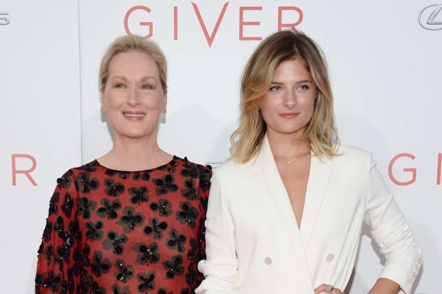 Louisa Gummer et Meryl Streep