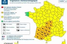 Orages: 17départements en vigilance orange