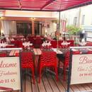 Restaurant : Aux 2 Fontaines  - Terrasse Aux 2 Fontaines -   © Aux 2 Fontaines