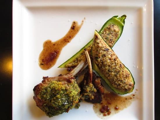 Le Kiosque Restaurant  - Exemple de plat proposé -   © Mercure Paris Porte de Pantin