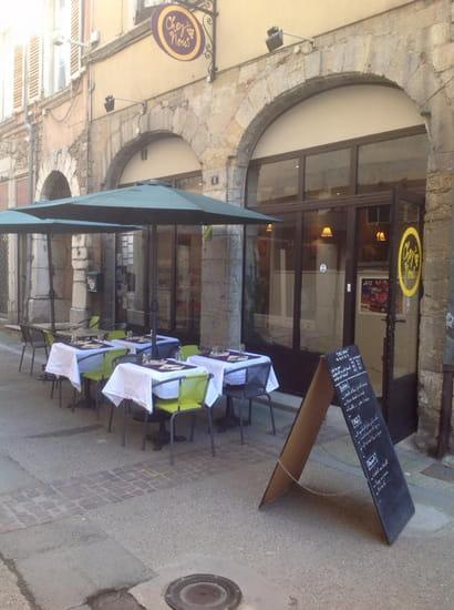 """Restaurant : Chez Nous  - la terrasse """"Chez Nous"""" -   © Chez Nous"""