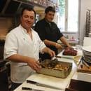 Restaurant de la Halle  - Les Chefs : Père et Fils -   © Patypen