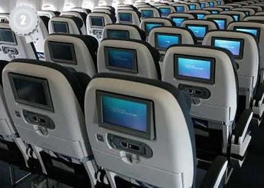 la classe world traveller (économique) de british airways