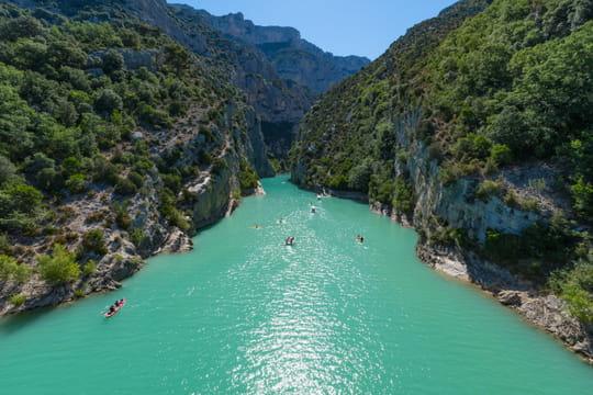 Gorges du Verdon: randonnée et canoë, les activités en famille