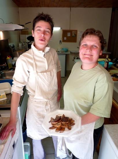 Le Carreyrou  - foie gras frais poélé prêt à être dégusté -   © p.blidon