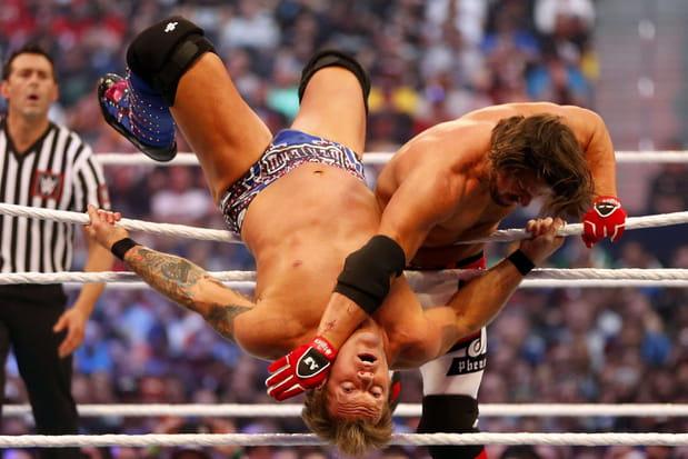 AJ Styles et Chris Jericho