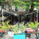 L'@robazzia  - notre belle terrasse calme et ombragée -