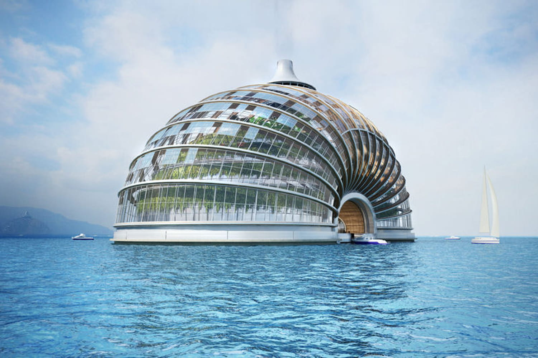 Les villes flottantes du futur en images