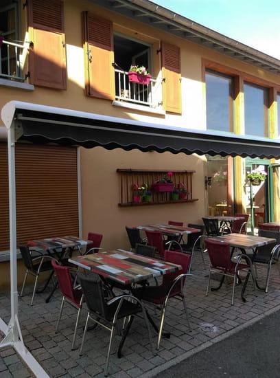 Restaurant : Auberge du Lavoir  - La terrasse -   © Auberge du Lavoir