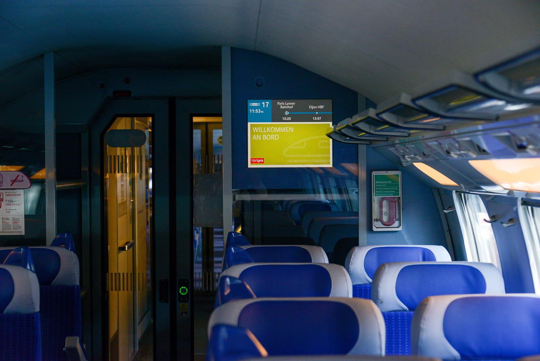 SNCF: le retour des voitures-bars, le trafic