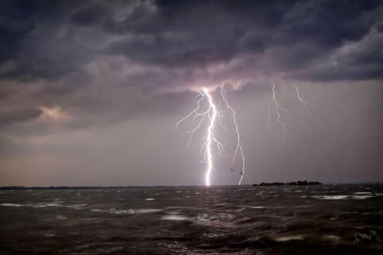 Orage: le Sud en alerte orange, toutes les prévisions