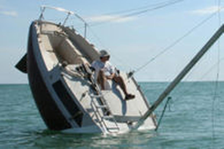 bateau qui coule