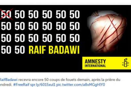 Raif Badawi : l'incroyable histoire d'un condamné à 1000 coups de fouet en Arabie