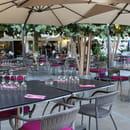 Le Borméo  - la terrasse du restaurant -