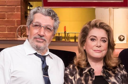 Burger Quiz: Catherine Deneuve présente pour le retour d'Alain Chabat